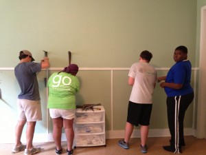 Fairview and Church of Life students working hand in hand